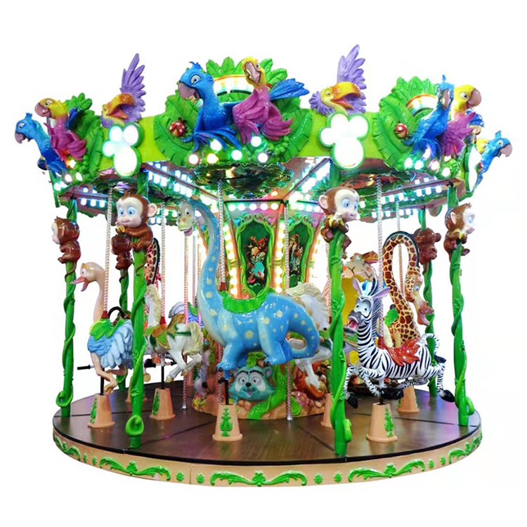 24 Seats Carousel Ride For Sale HFZM24